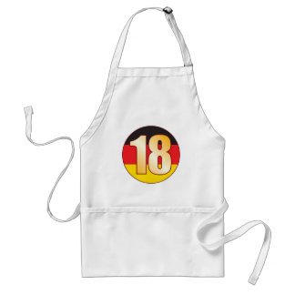 18 GERMANY Gold Adult Apron