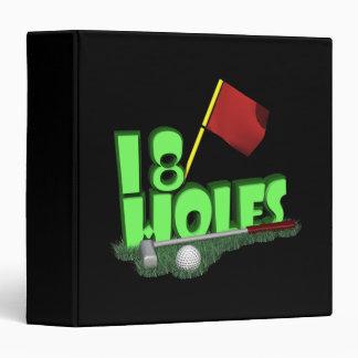 18 Holes Binder