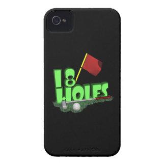 18 Holes Case-Mate Blackberry Case