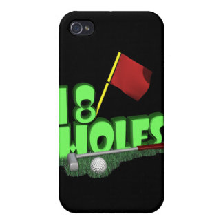 18 Holes Cover For iPhone 4