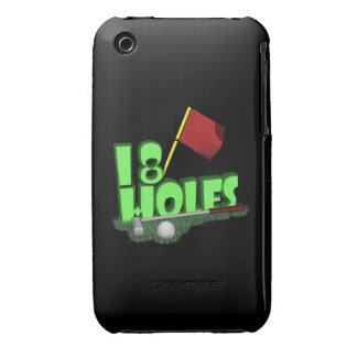 18 Holes iPhone 3 Case-Mate Case