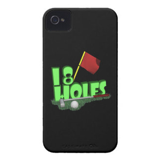 18 Holes iPhone 4 Cover