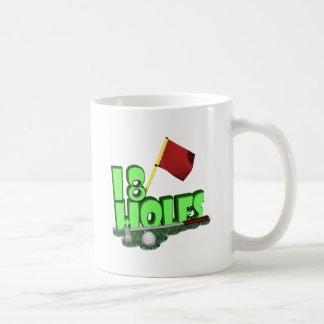 18 Holes Mug