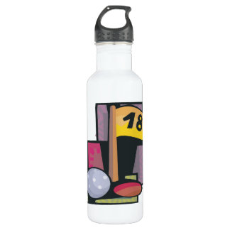 18 Holes Stainless Steel Water Bottle