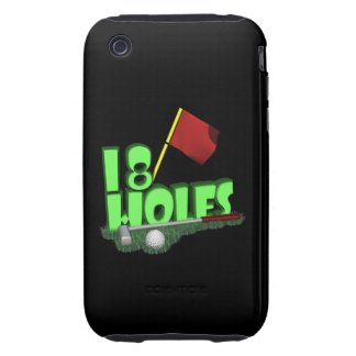 18 Holes Tough iPhone 3 Cover