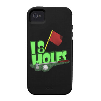 18 Holes Vibe iPhone 4 Covers