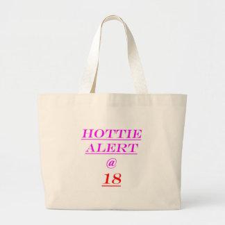 18 Hottie Alert Tote Bags