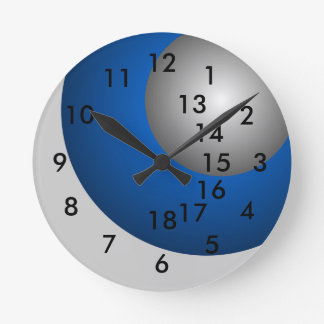 18-Hour Office Gift Clock Overtime Work Business