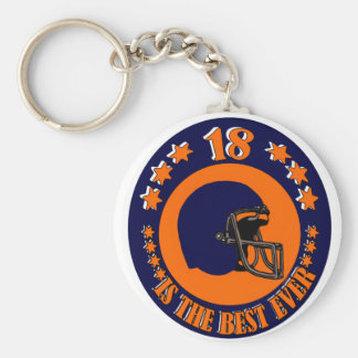 18 IS THE BEST EVER KEYCHAIN