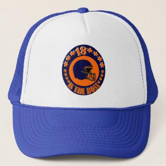 18 IS THE BOSS TRUCKER HAT