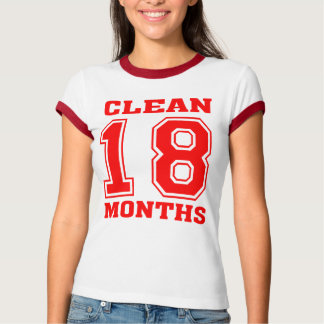 18 meses limpian cortocircuito del deporte playera