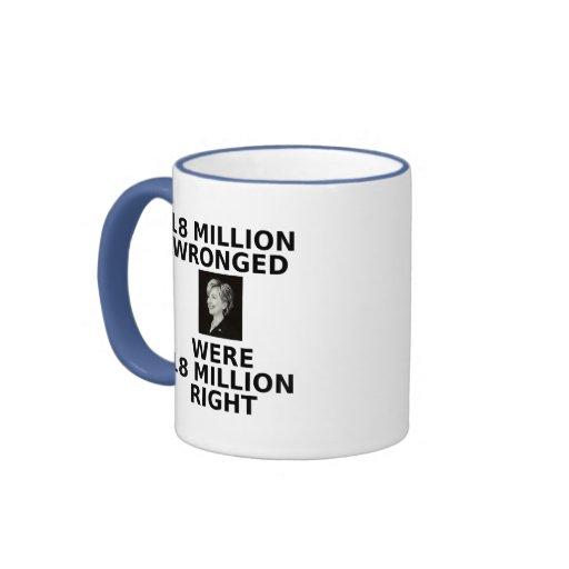 18 millones perjuicios, taza