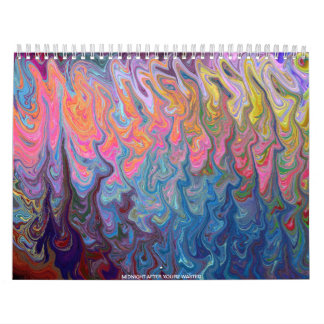 18 MONTH ABSTRACT CALENDAR
