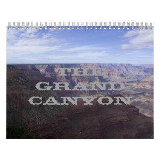 18 Month Grand Canyon 2014- 15 Calendar