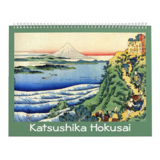 18 month Hokusai Calendar
