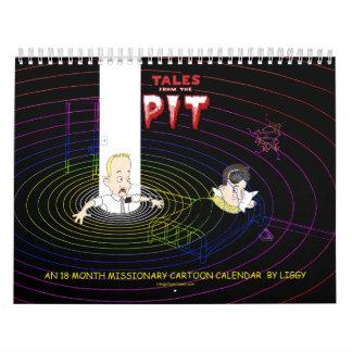 18 Month LDS Missionary Calendar starts Jan 2013
