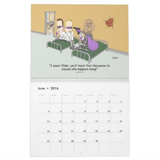 18 Month LDS Missionary Calendar starts June 2013