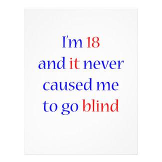 18 never gone blind flyer