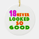 18 Never Looked So Good Birthday Designs Christmas Tree Ornaments