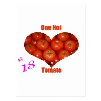 18 One Hot Tomato Postcard