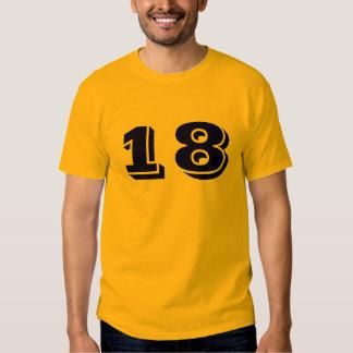 #18 PLAYERAS