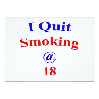 18  Quit Smoking Card