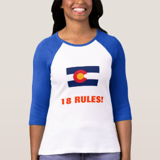 18 RULES! T-Shirt