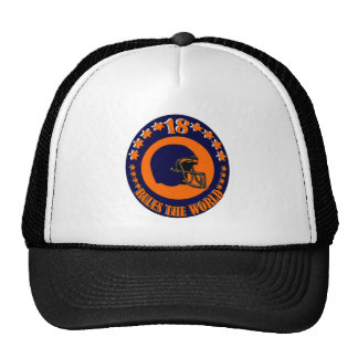 18 RULES THE WORLD HAT