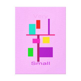 18 tamaño pequeño adicionales lona envuelta para galerias