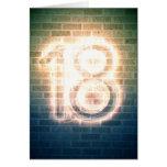 18 TARJETA