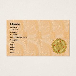 18 tarjetas de visita artísticas