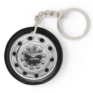 18 Wheelin' Keychain