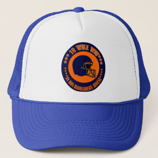 18 WILL WIN IN HIS BROTHER'S HOUSE TRUCKER HAT