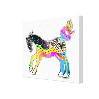 """18""""X24"""" CANVAS PRINT - Pop Art HORSE"""