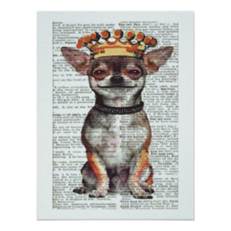 "18 X 24"" CHIHUAHUA POSTER - CELEBRATION GIFT!"