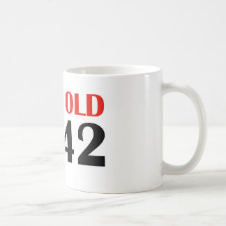 18 year old cleverly disguised as 42 coffee mug