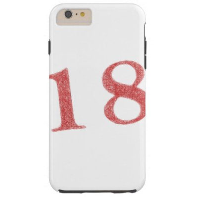 18 years anniversary tough iPhone 6 plus case