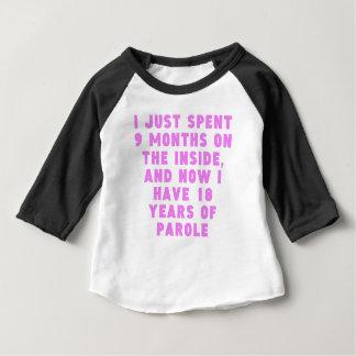 18 Years Of Parole Baby T-Shirt