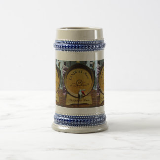 18 Years Philippine Rum, Gray/Blue 22 oz Stein
