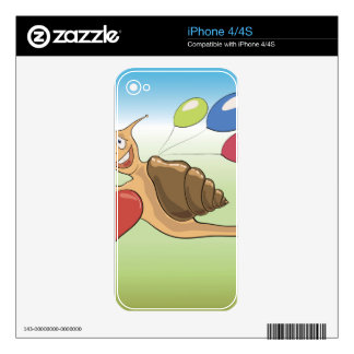 18snail decals for iPhone 4
