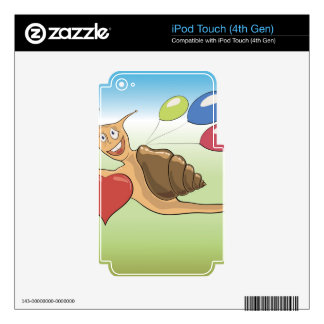 18snail decals for iPod touch 4G