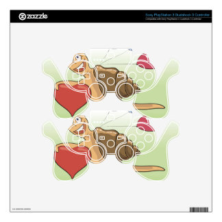 18snail PS3 controller decals