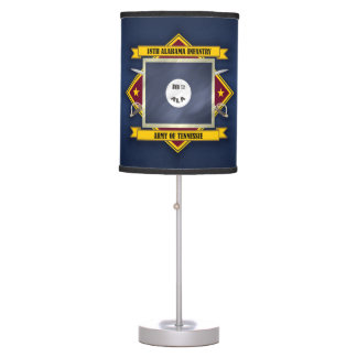 18th Alabama Infantry Table Lamp