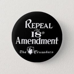 18th Amendment Button