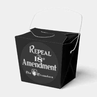 18th Amendment Favor Box