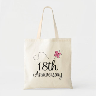18th Anniversary Tote Bag