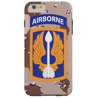 "18th Aviation Brigade ""Black Barons"" Desert Camo Tough iPhone 6 Plus Case"