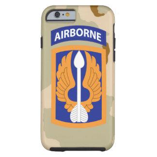 "18th Aviation Brigade ""Black Barons"" Desert Camo Tough iPhone 6 Case"