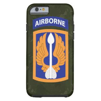"""18th Aviation Brigade """"Black Barons"""" Green Camo Tough iPhone 6 Case"""