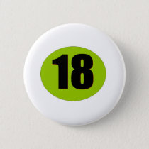 18th Birthday Button
